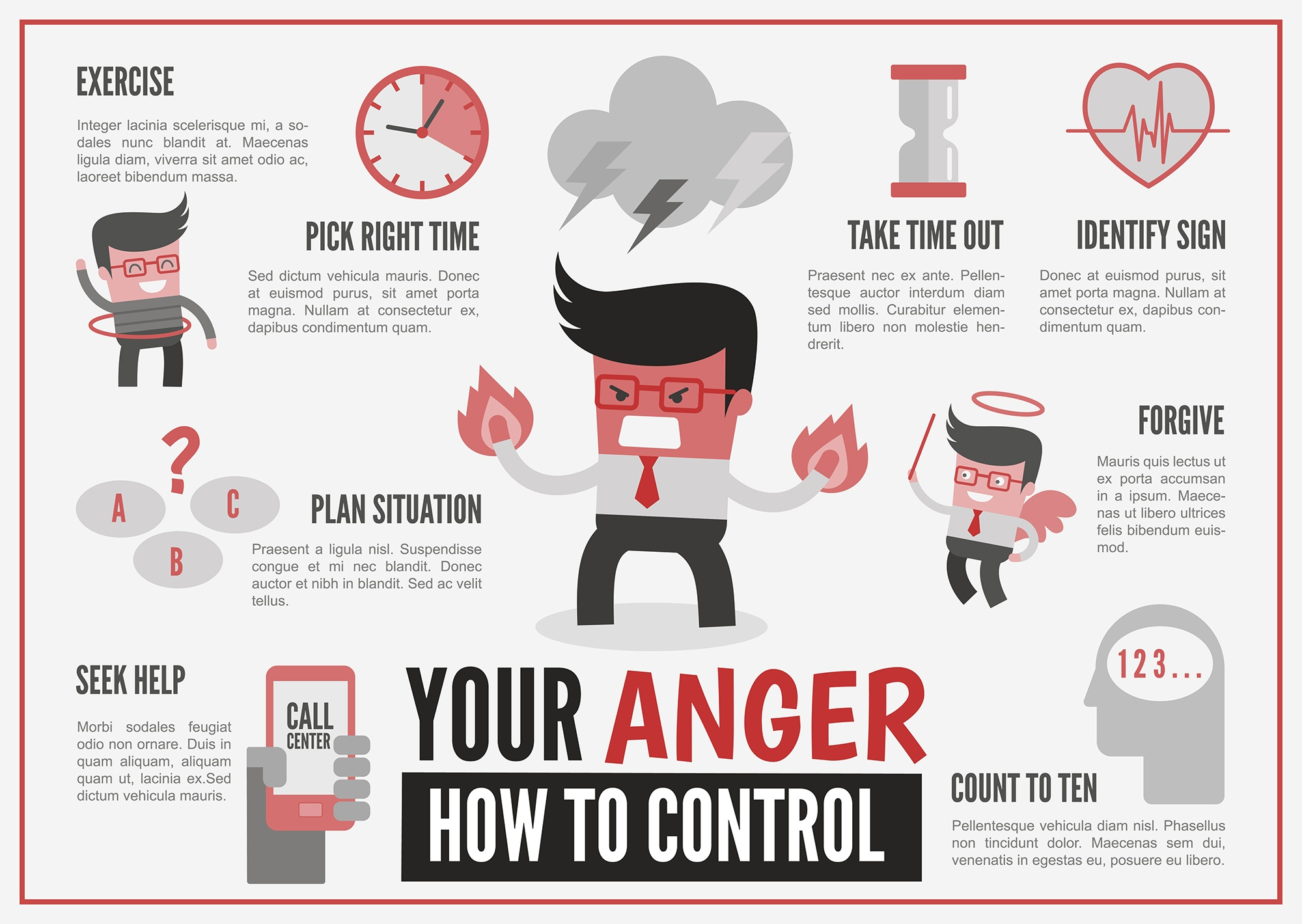 infographics about anger management